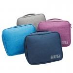 便携化妆包收纳包防水大容量韩国简约多功能出差旅行收纳袋洗漱包四方形包
