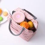 韩版户外保温袋保温便当包手提便捷饭盒包带饭袋子学生手提包加厚