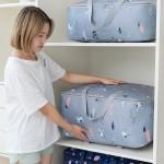 牛津布衣服棉被收纳神器宿舍棉被整理袋搬家行李打包超大衣物袋子