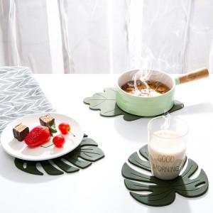 家用餐垫桌垫防烫硅胶碗垫北欧厨房锅垫杯垫盘子菜垫子耐热餐盘垫两片装