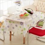 优质PEVA磨砂透明防水防尘台布 桌布
