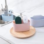 厨房水槽沥水袋收纳挂篮创意水龙头收纳置物架洗碗擦沥水收纳挂篮