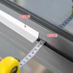 自粘型门窗密封条玻璃门缝门底隔音防风贴窗户缝隙保暖保温防水条