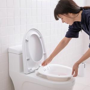 坐浴盆家用男女痔免蹲产孕妇熏蒸成人洗屁股护理月子盆老人马桶盆