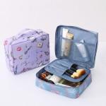 四方洗漱包化妆包小方包防水旅行旅游户外出差大容量便携收纳包