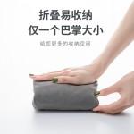 便携长途旅行充气脚垫坐火车飞机睡觉神器必备放脚凳垫脚u型枕头