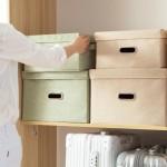 好阿姨衣物储物箱布艺储蓄箱大号衣服被子收纳盒收纳箱卧室整理箱