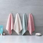 不掉毛素色菠萝格洗碗布 水洗抹布 干湿两用家居