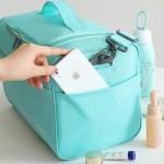 阳离子大容量防水短途旅行包 干湿分离行李包 登机包