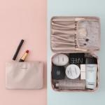 化妆包女小号便携 大容量ins风 超火化妆品收纳包化妆袋