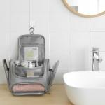 新款 家居化妆用品整理干湿分离双开洗漱包