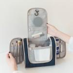 出差便携式双开洗漱包旅游收纳袋化妆包
