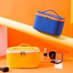 PU手提化妆箱大容量收纳盒化妆包化妆品收纳包