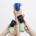 户外旅行可折叠硅胶水杯子便携伸缩可装沸水耐高温马克杯压缩水杯