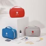 旅行便携手提医药包急救包药品整理杂物归类收纳包大号