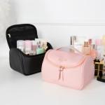 防水防潮大容量便携手提大开口化妆包浴室收纳整理包