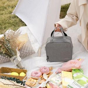 便当包加厚保温袋阳离子保温包上班便当袋带饭保温袋便当包