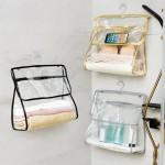 浴室收纳袋防水学生宿舍收纳挂袋防尘防潮悬挂式收纳挂袋