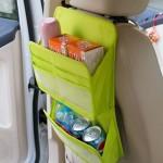 车用杂物收纳袋 后座置物袋 车内用品收纳(双层)